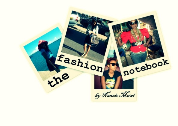 collage+header Fashionable Notebook Nancie Mwai