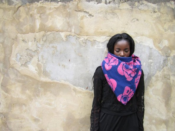 Choolips image - AW2011 -Tropical Blush / Scarf