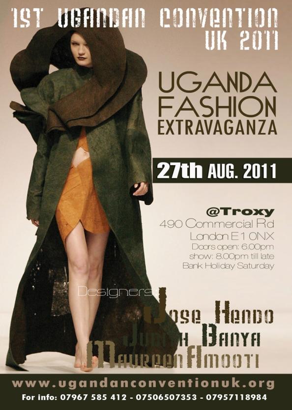 Uganda Fashion Extravaganza - flyer