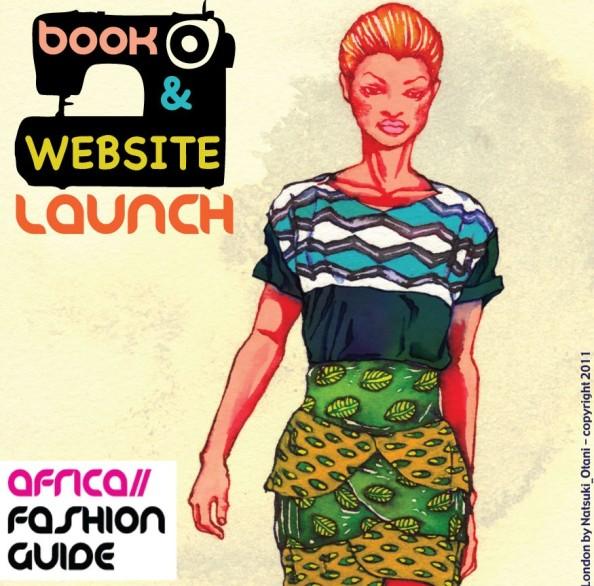 AfricaFashionGuide-launch flyer- image copyright AfricaFashionGuide