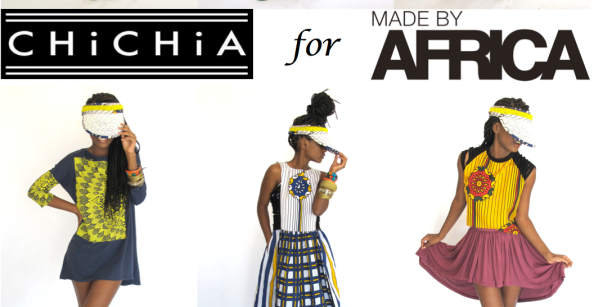 Chichia for Made by Africa SS12
