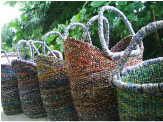 Basket Weaving Ghana : Volunteer with g lish and support their basket project