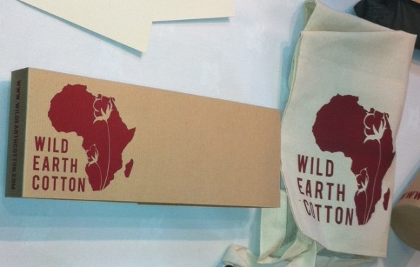 Wild Earth Cotton at EFF Source Expo - image copright Africa Fashion Guide
