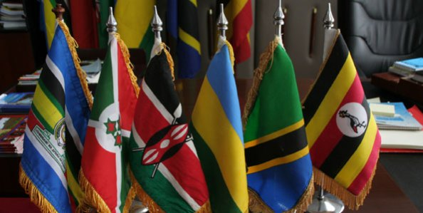 The-flags-of-the-member-states-of-the-East-African-Community.